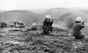 9th Infantry Division firing
