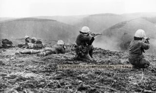 9th Infantry Division firing