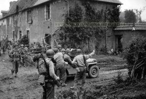 General Eddy in Normandy