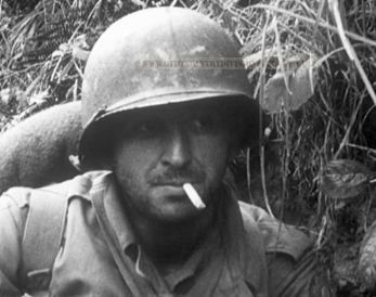 9th Infantry Division man in Normandy 1944