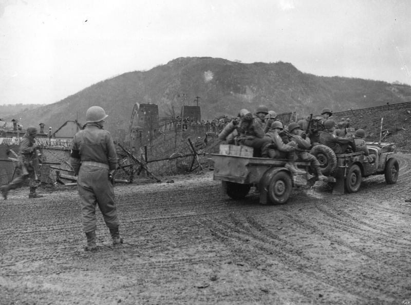 9th-Armored-Division-Troops-Jeep-Ludendorff-Bridge-Remagen-45