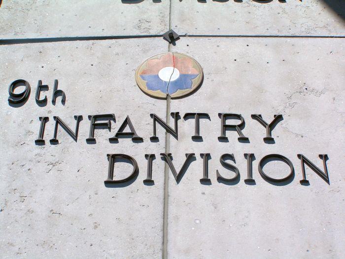 9th Infantry Division mention in Bastogne