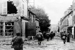 47th Infantry Regiment in Cherbourg