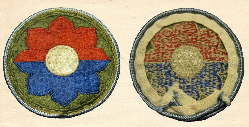 The Octofoil Shoulder Patch | 9th Infantry Division in WWII