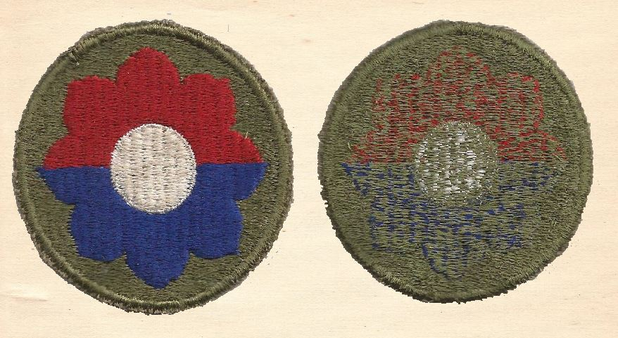 Meritorious Service Unit Award embroidered patch WWII 1945 cut edge