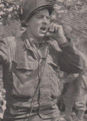 9th Infantry Division Radioman