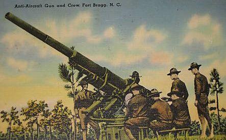Fort Bragg Artillery