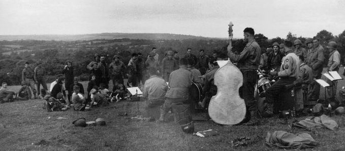 9th Division Band Pieux
