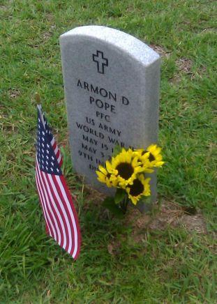 Amon D Pope Grave