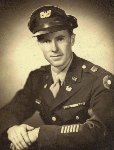 Frank Lovell in uniform