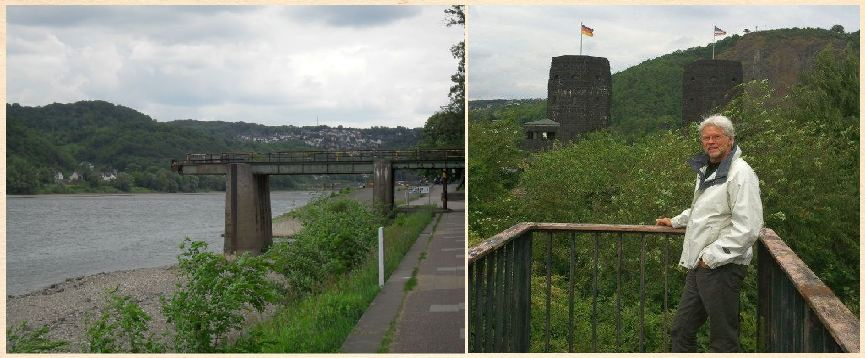 Remagen Bridge and Dad