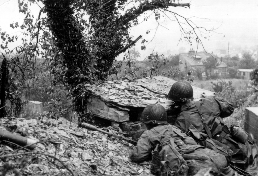 39th Infantry Regiment in Normandy