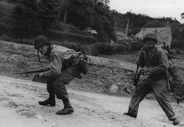 9th Infantry Division Normandy Start Attack