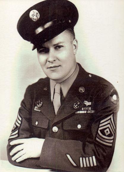 1st Sergeant Charles Sidney Willsher