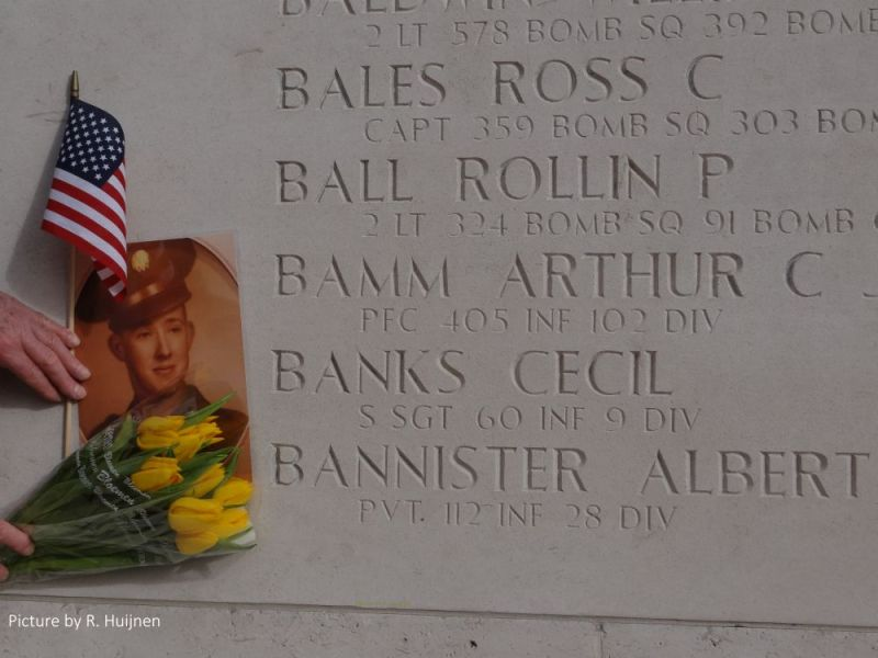 Cecil Banks Wall of Missing