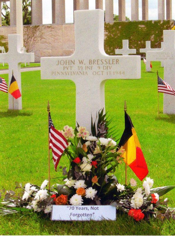 John W Bressler Grave