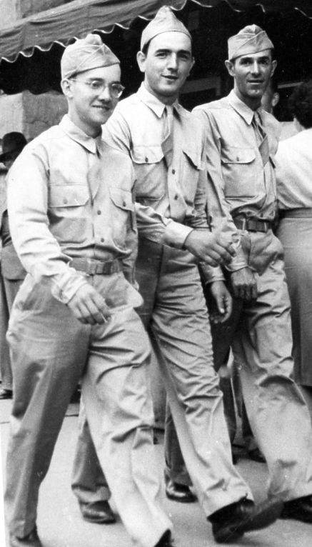 Bill while in Basic Training in Texas