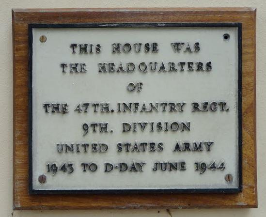 50 Broad Street Alresford plaque