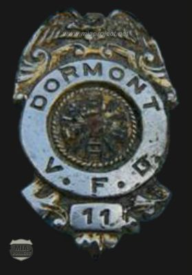Nalitz Fireman Badge
