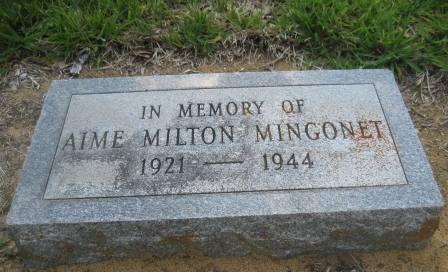 Headstone marker
