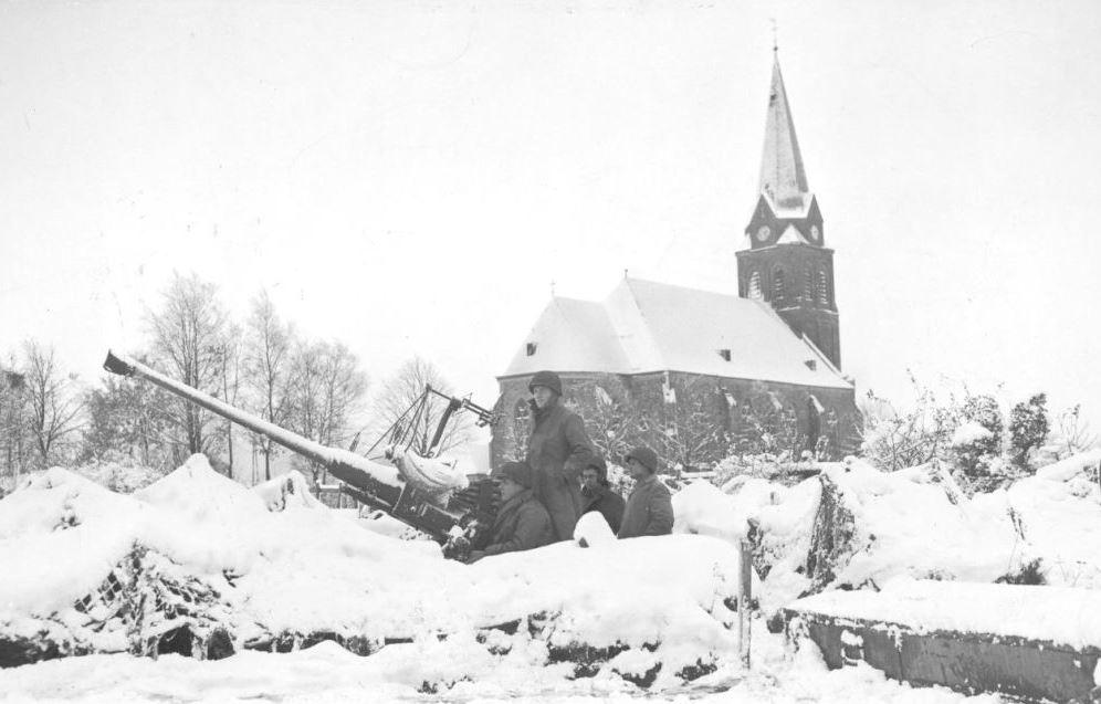 Krinkelt church,Belgium.