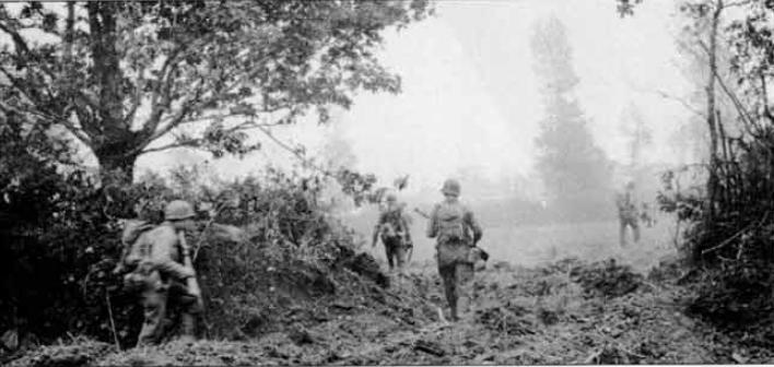 47th Infantry Regiment Hedgerow warfare
