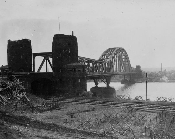 The Ludendorff bridge at Remagen