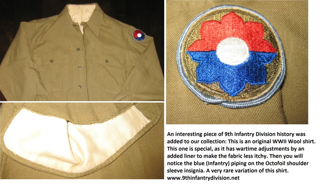 9th Infantry Division Wool Shirt