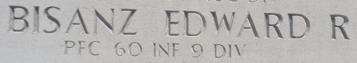 Edward R. Bisanz Wall of Missing