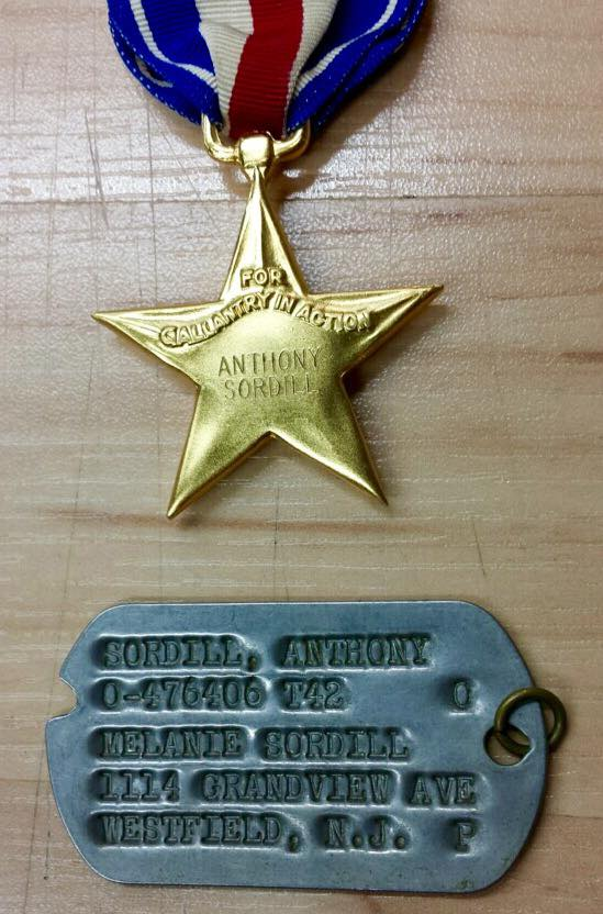 Anthony Sordill Medals