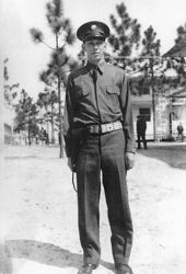 Arthur J. Sweeney during his training.