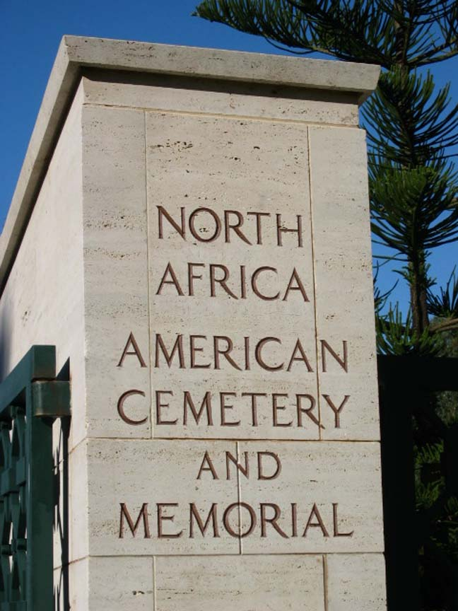 North African cemetery