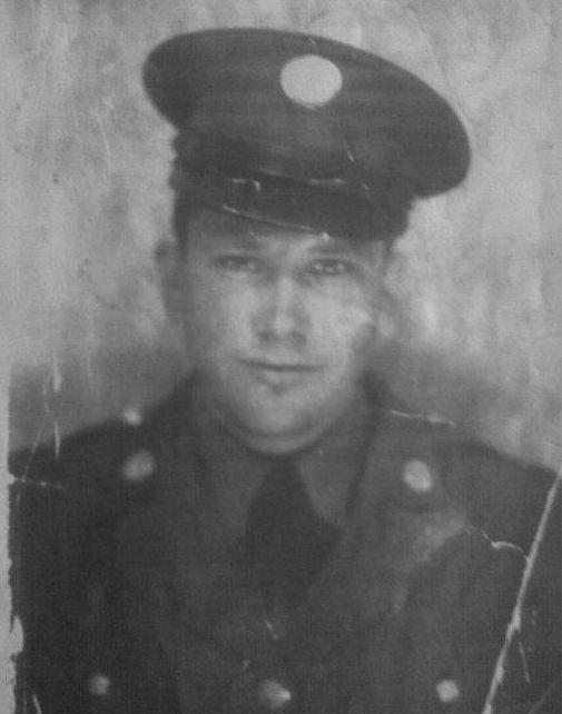 Corporal Robert Pierce