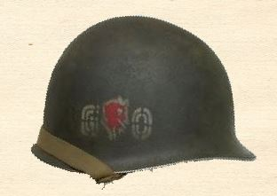 60th Infantry Regiment Go Devils Helmet