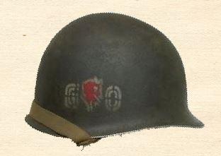 60th Infantry Regiment Go Devils Helmet