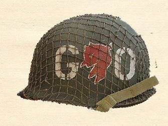 Go Devils 60th Infantry Regiment Helmet 2