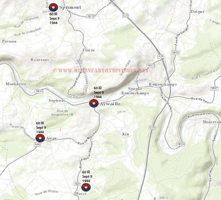 map-aywaille-area