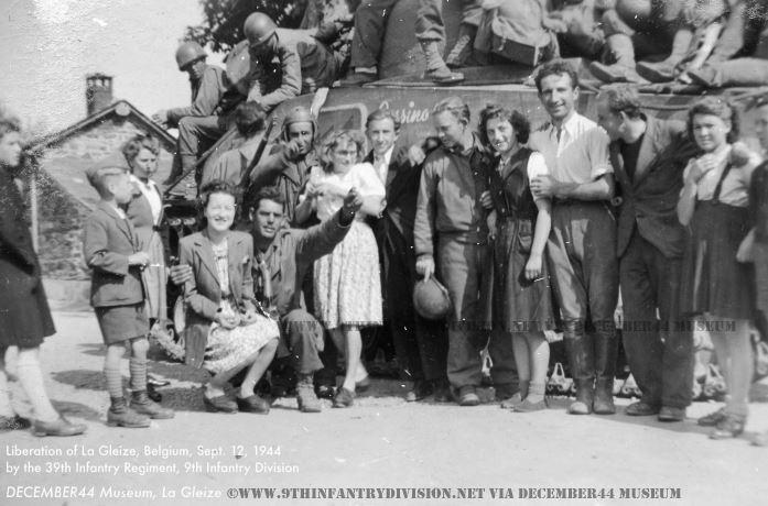 39th Infantry Regiment at La Gleize, Belgium.