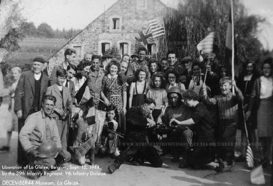 First liberation of La Gleize, Belgium. September 12th, 1944.