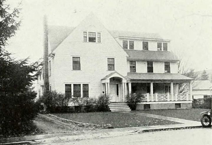 Phi Kappa Tau, Alpha Alpha Chapter House, where Robert lived in college.