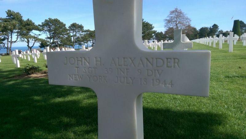 John H. Alexander Grave