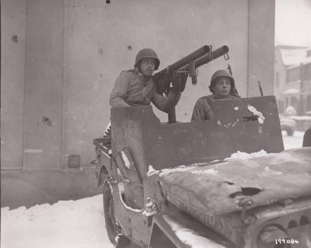 60th IR I and R jeep