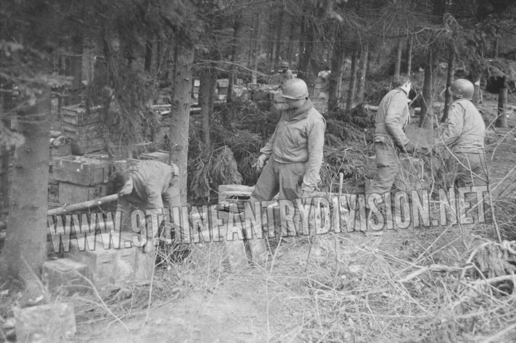 9th Infantry Division Hurtgen Forest
