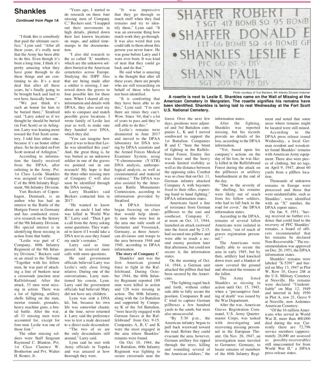 Leslie Shankles News Page 2