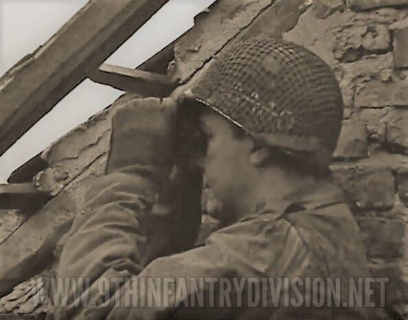 39th Infantry Regiment soldier on the look out.