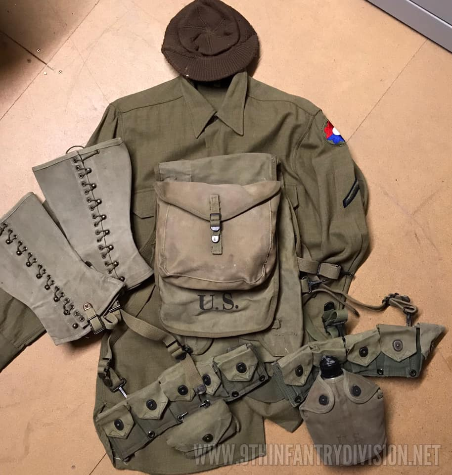 9th Infantry Division Memorabilia