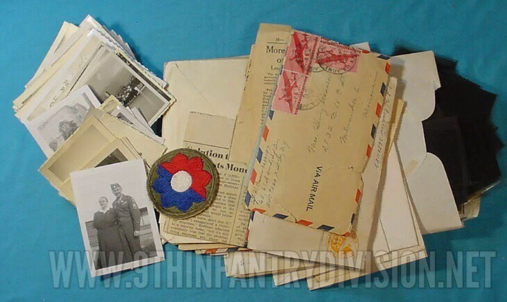 9th Infantry Division Letters and Pictures