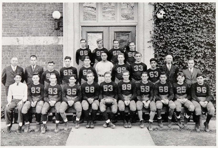 1938 HHS Football - Bruce #93