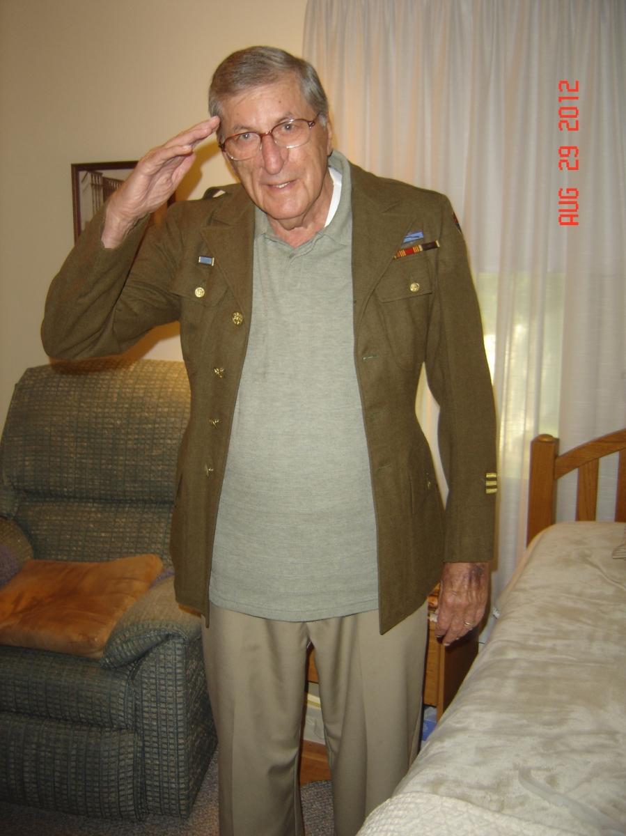 Stanley Turowski, 89 years old.