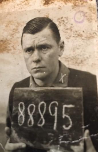 Bertrum Wheeler as a POW